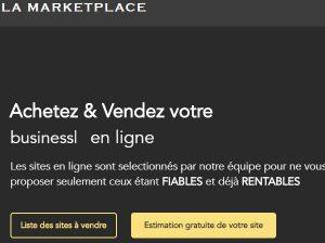 La Marketplace : la plateforme d'achat revente de sites internet de Kevin Jourdan